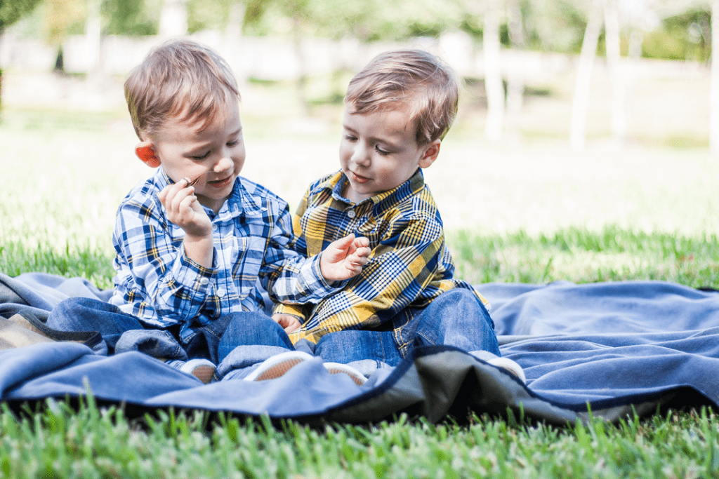 First Day of Home blogger - Crissy's twin boys