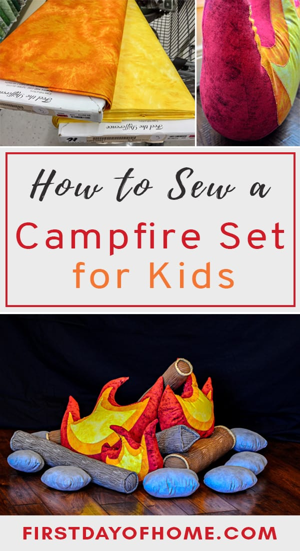 Campfire sewing tutorial