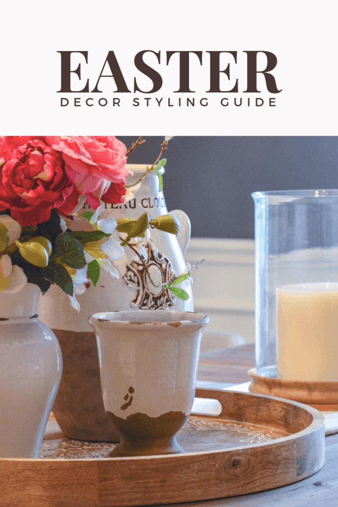 Spring decorating ideas and Easter decor