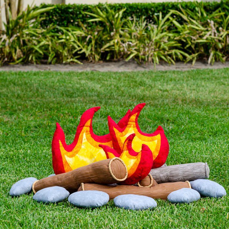 Sewing a Kids Pretend Campfire Set: Free Tutorial