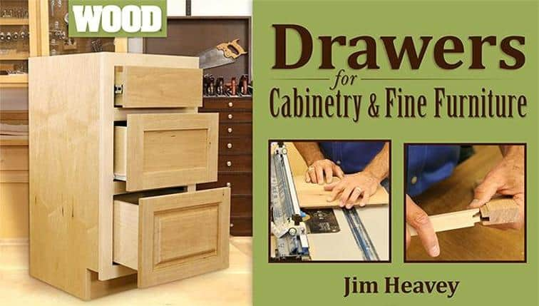 Drawers and Cabinets Bluprint Class for woodworking gift for dad