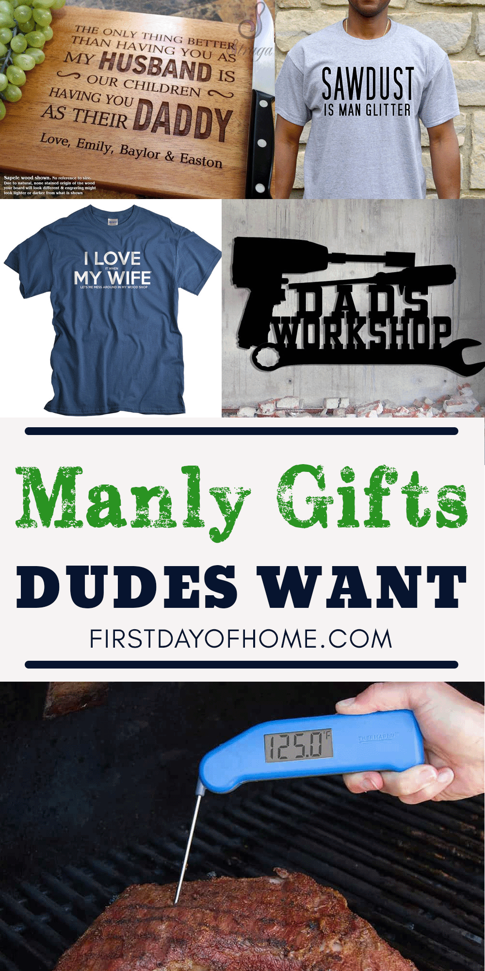 Gifts for dads who have everything - gift guide for dads - gift guide for dad's birthday