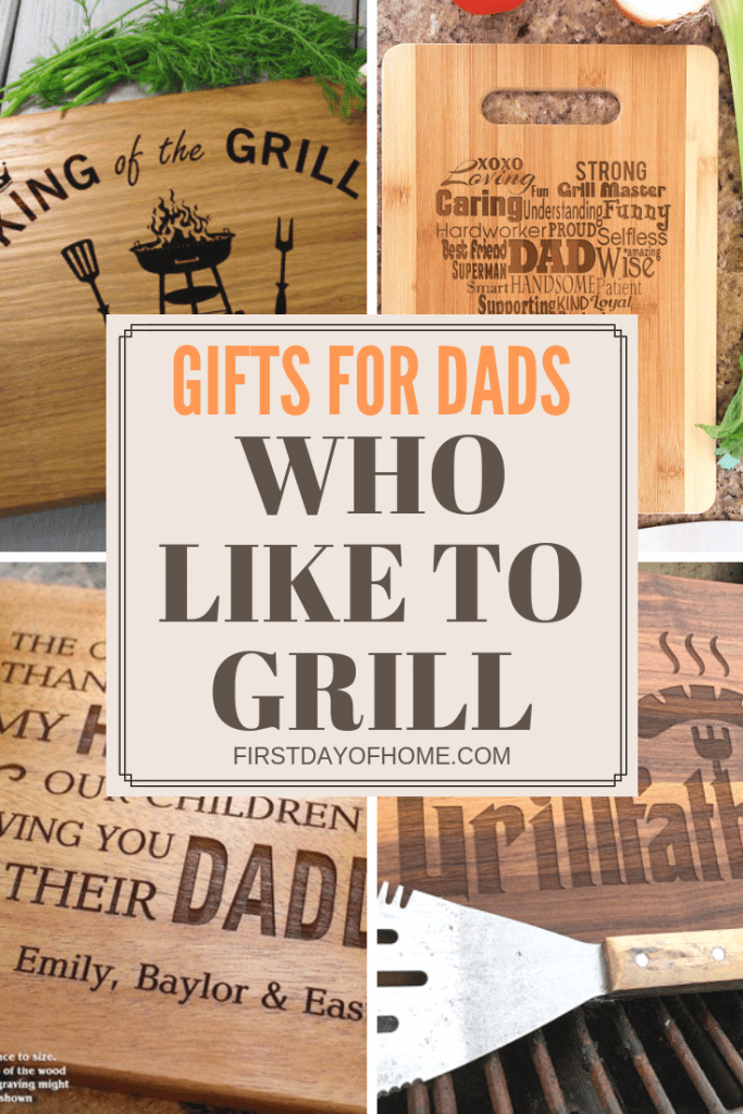 Cutting boards personalized for grilling gifts for dad