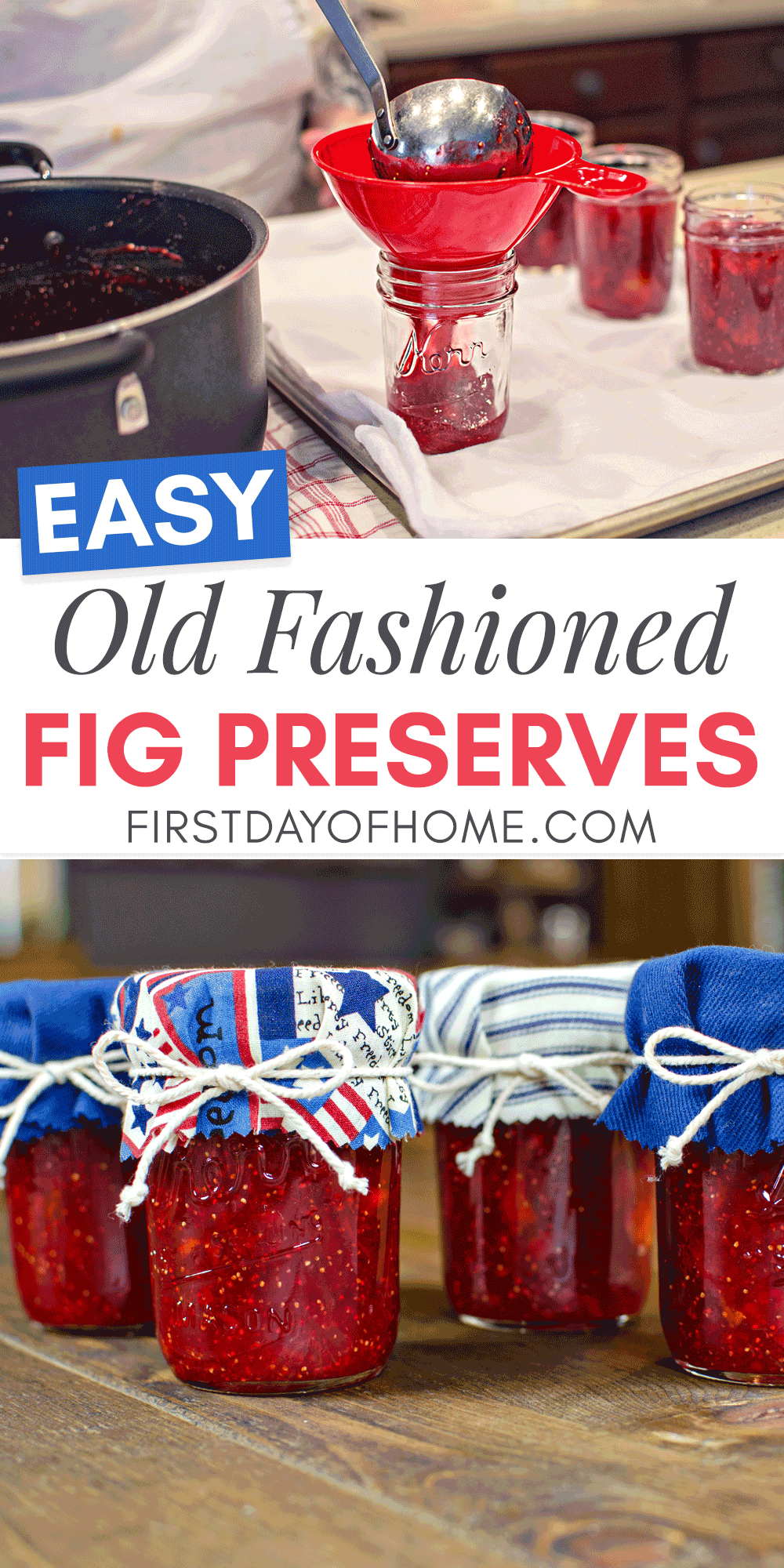 Fig preserves made the old fashioned way and canned properly