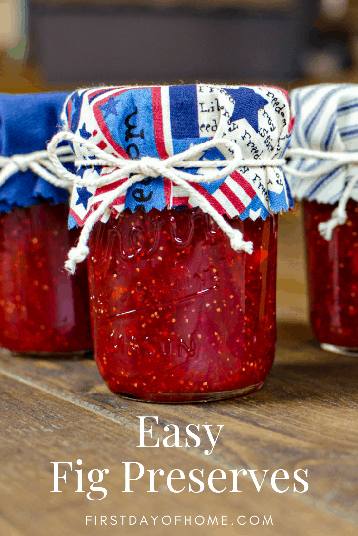 Easy fig preserves recipe