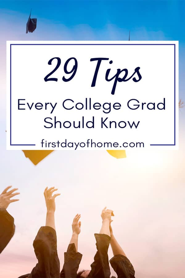 Tips every college grad should know