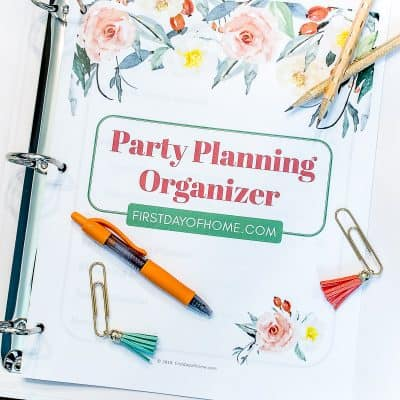 Free Party Planning Printables Download