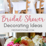 Bridal shower decorating ideas that are inexpensive and elegant