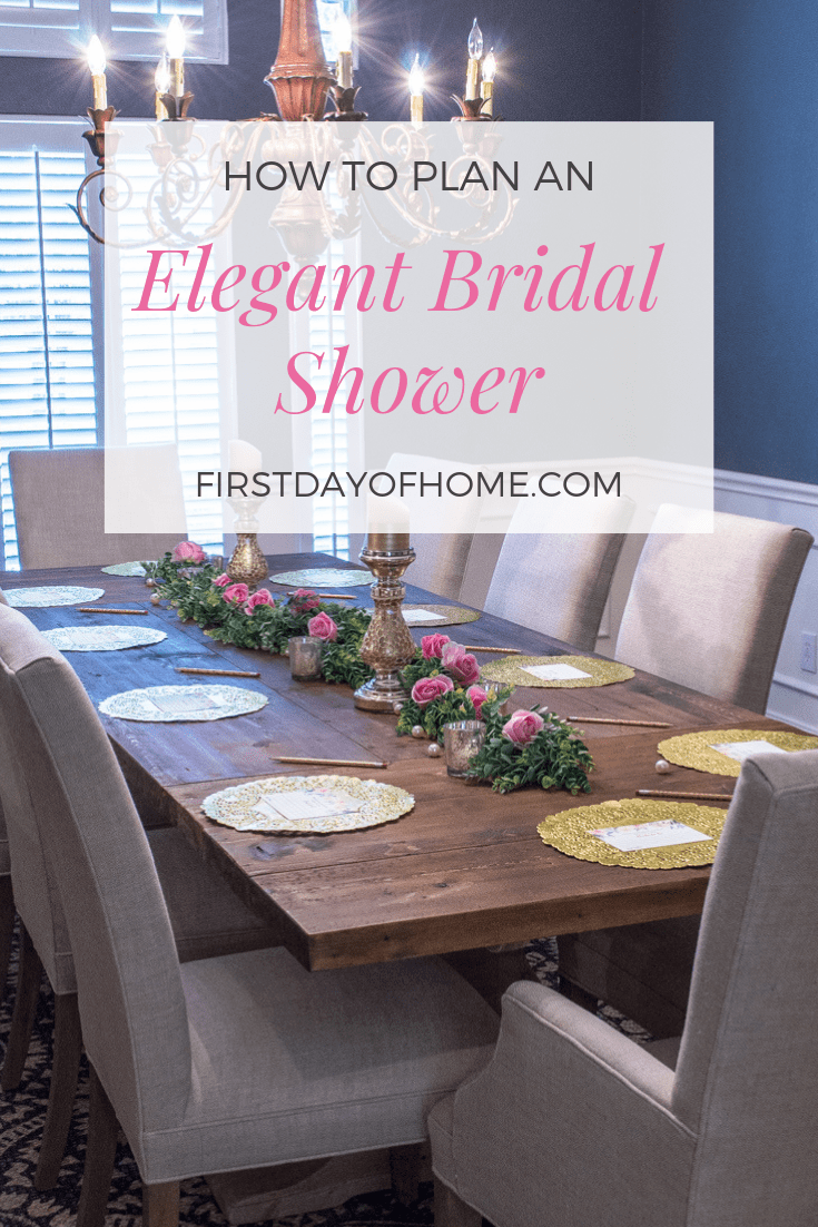 Elegant and affordable wedding shower and bridal shower decor ideas