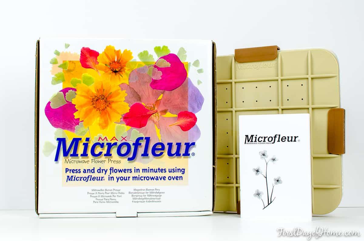 Microfleur for DIY pressed flower art