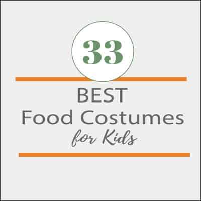33 of the best food related costumes for kids
