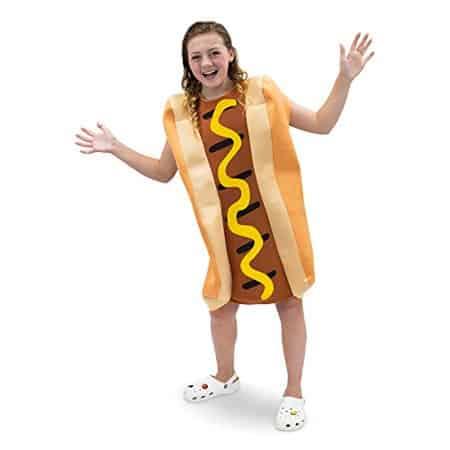 Hot Dog Food Costume for Kids