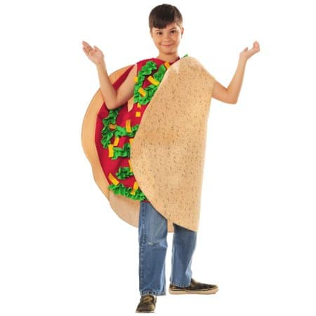 Taco Food Costume for Kids