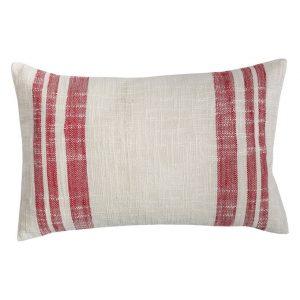 C&F Home Morgan Crimson Holiday Throw Pillow