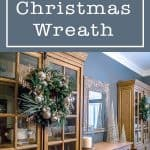 Homemade Christmas wreath from scratch tutorial