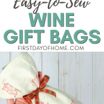 So Sew Easy Wine Bottle Gift Bag