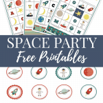 Free space printable cupcake toppers and bingo game