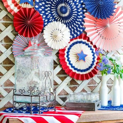 July 4th decorations for outdoors