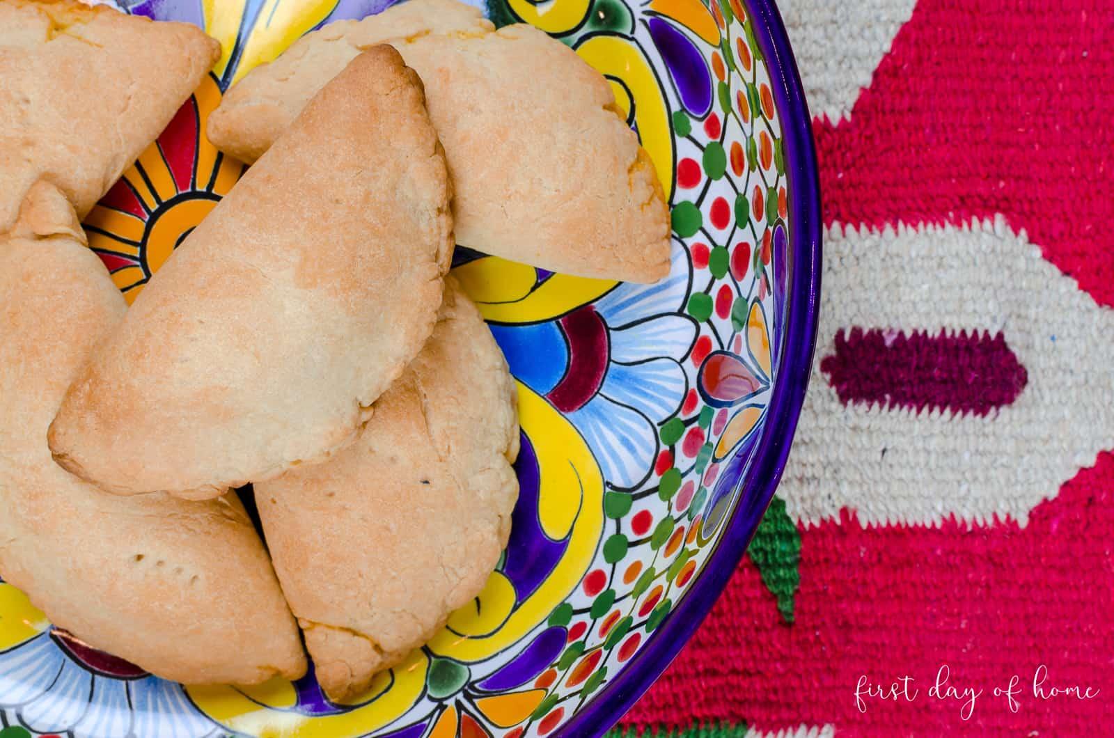 Mexican baked empanadas using family recipe