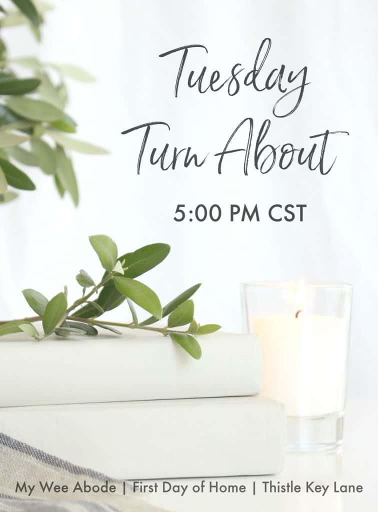 Tuesday Turn About Link Party Logo
