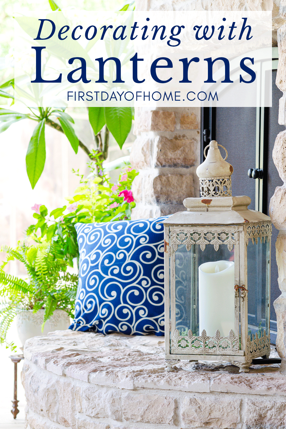 Lantern decorating ideas for outdoors