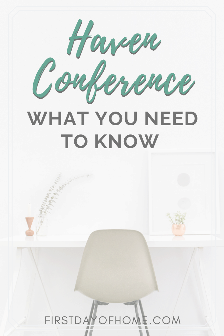 Haven Bloggers Conference recap pin for Pinterest