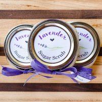 How to Make Lavender Sugar Scrub {Free Printable Tags}