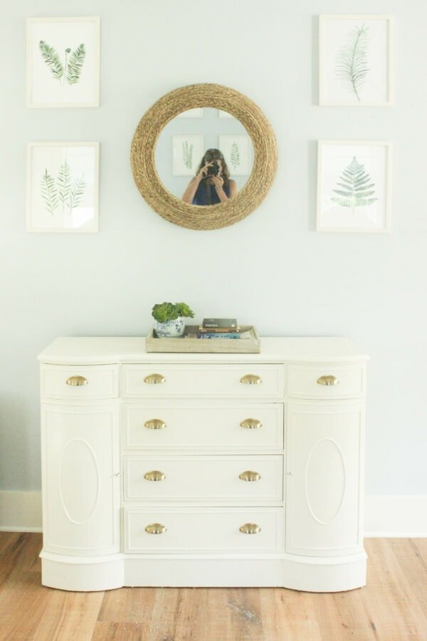 White dresser furniture makeover