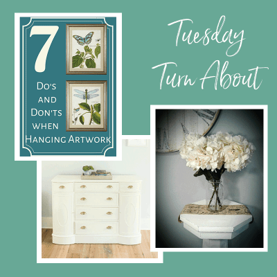 Tuesday Turn About #7: Home Decor Tips and Furniture Makeovers