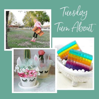Tuesday Turn About 9 - Kid friendly projects from bloggers