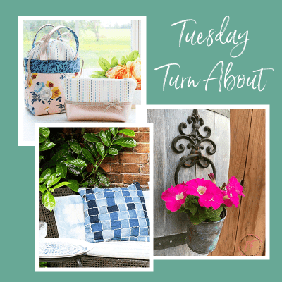 Tuesday Turn About #6: Upcycled Decor and Sewing Projects