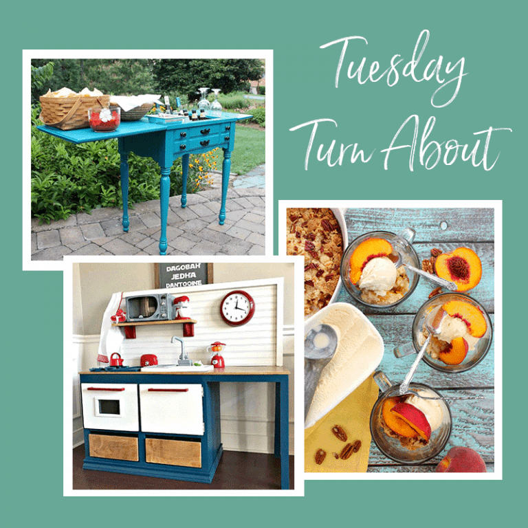 Tuesday Turn About #8: Summer Kitchens and Entertaining