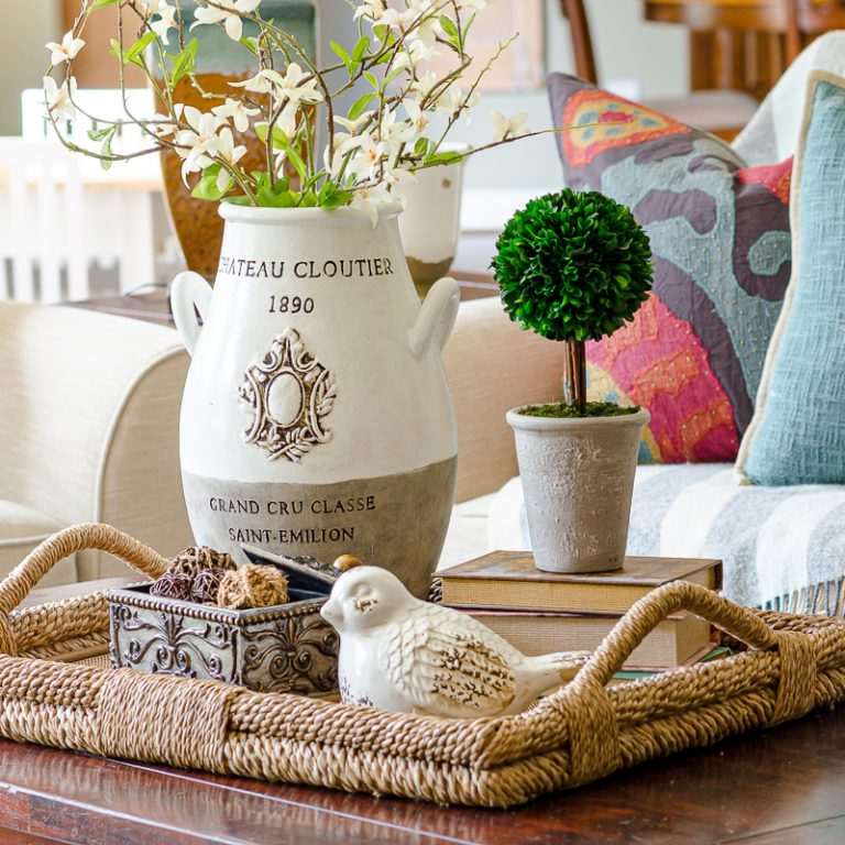 How to Create an Elegant Coffee Table Vignette
