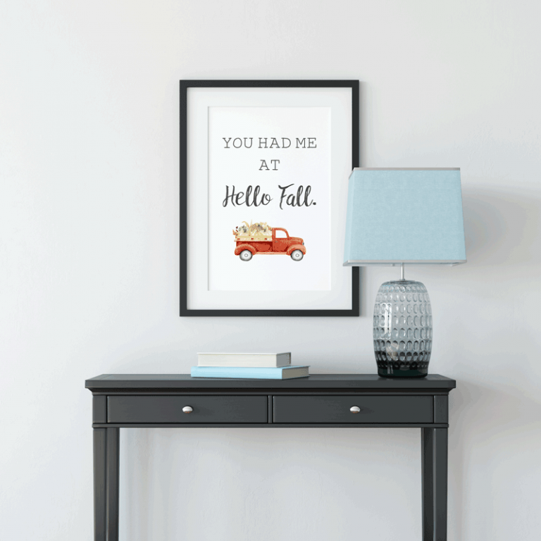 Free Fall Printables You Won't Want to Miss This Year