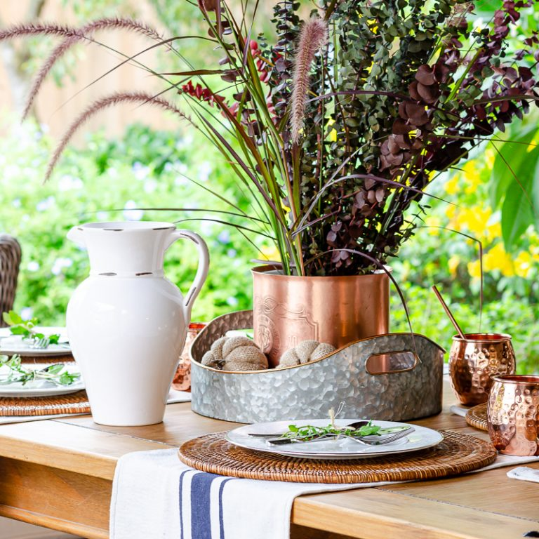 Simple Fall Table Decorations – Easy and Affordable Too