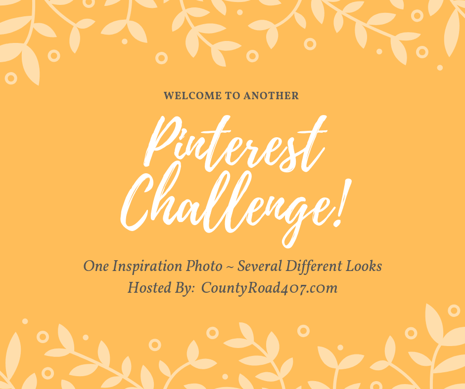 Pinterest Challenge with home decor bloggers