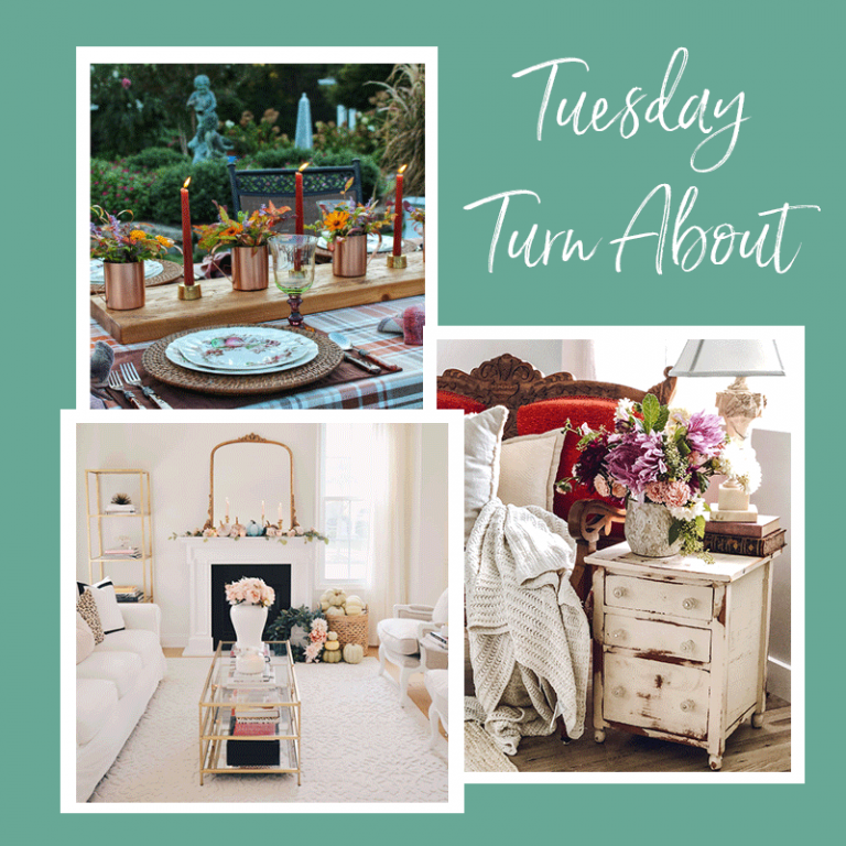 Tuesday Turn About 17: Fall Decor and Tablescapes