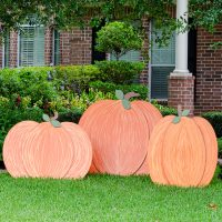 How to Make Wooden Pumpkins for Outdoors