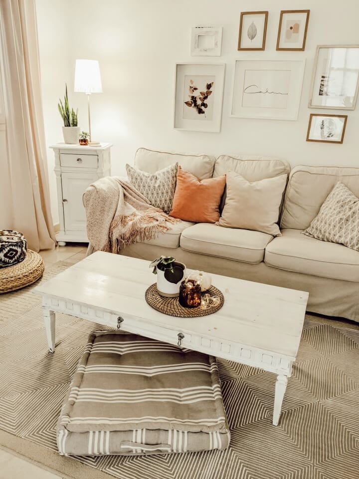 Cozy fall home tour from Northern Feeling blog