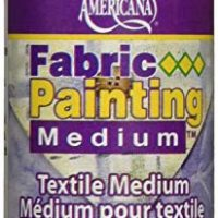 DecoArt Americana Fabric Painting Medium, 2-Ounce