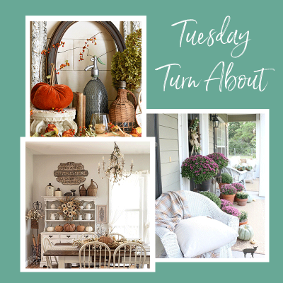 Tuesday Turn About #20: Rustic & Vintage Fall Decor