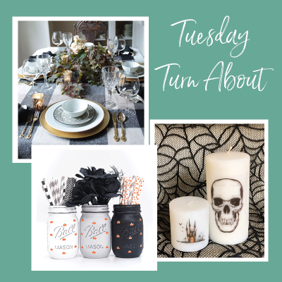 Tuesday Turn About #21: Halloween Crafts and Decor