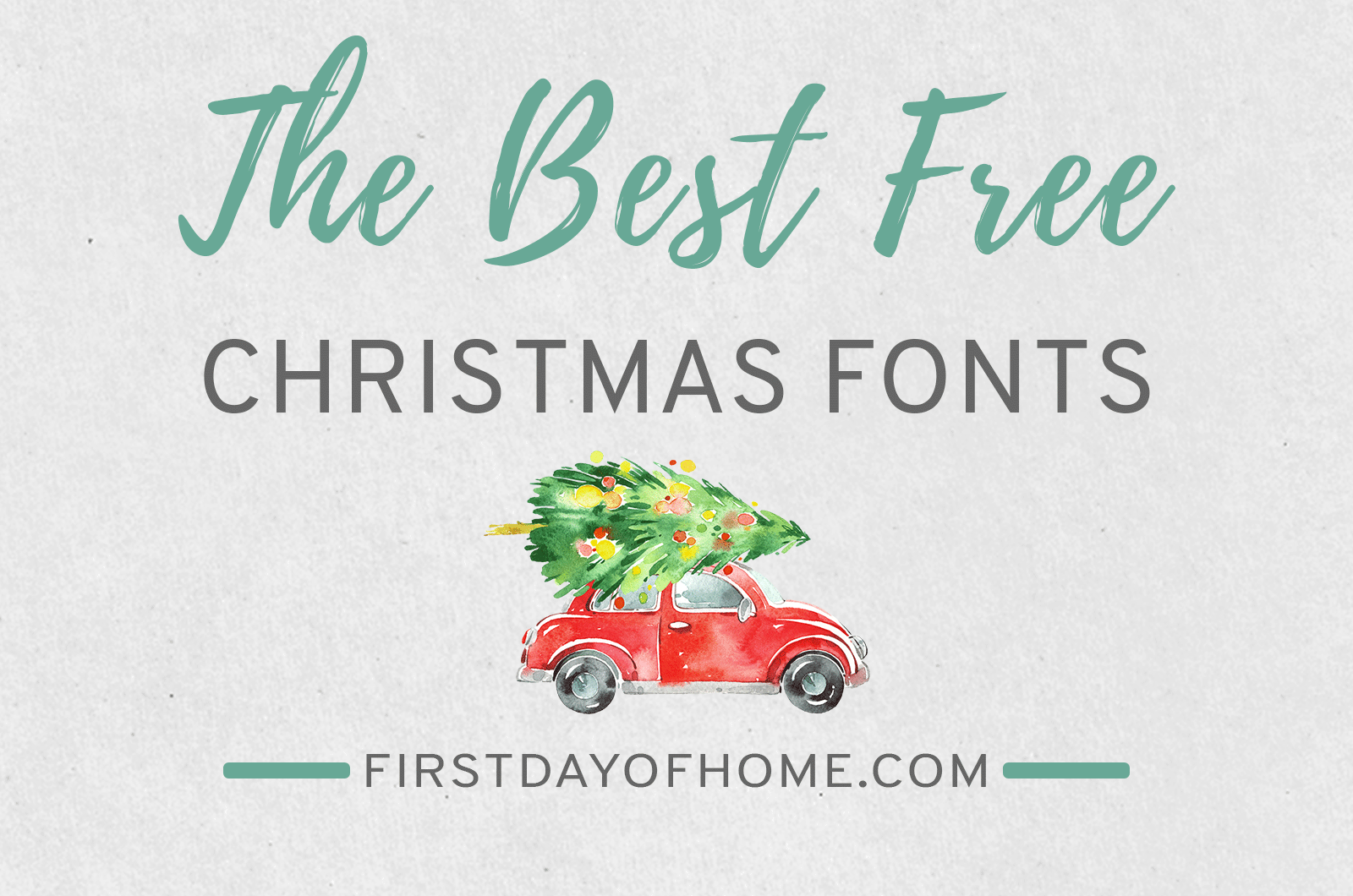 The best free Christmas fonts and graphics from around the web