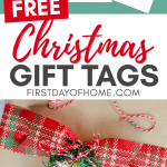 Free Christmas gift tags to download