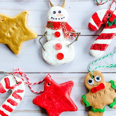 DIY Christmas salt dough onaments
