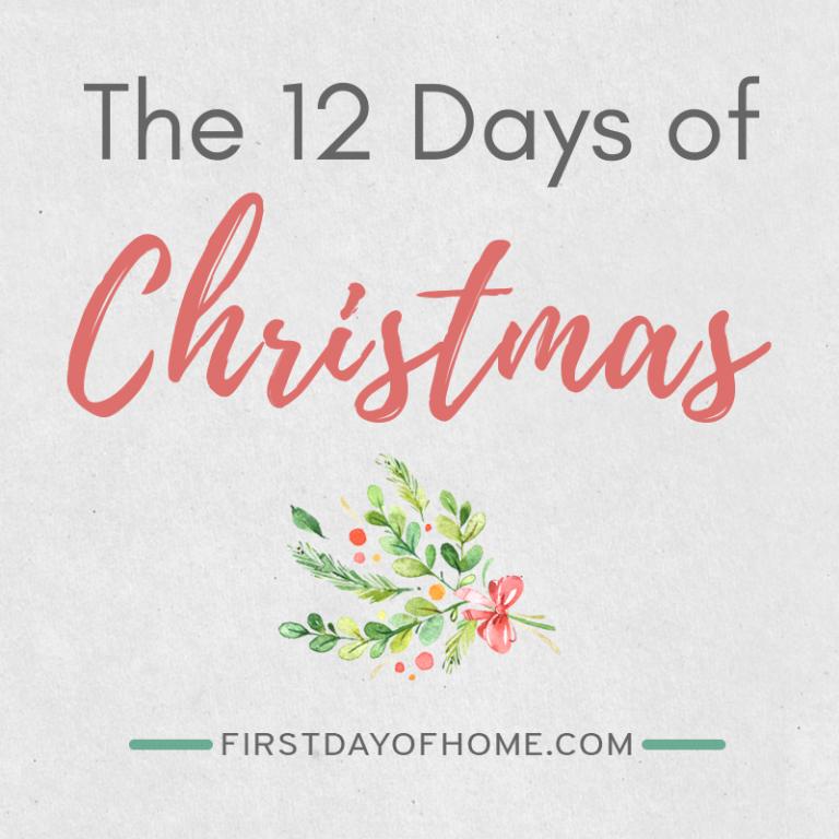 Creative Ways to Celebrate the 12 Days of Christmas [Free Lyrics Printable]