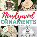 Newlywed ornament ideas
