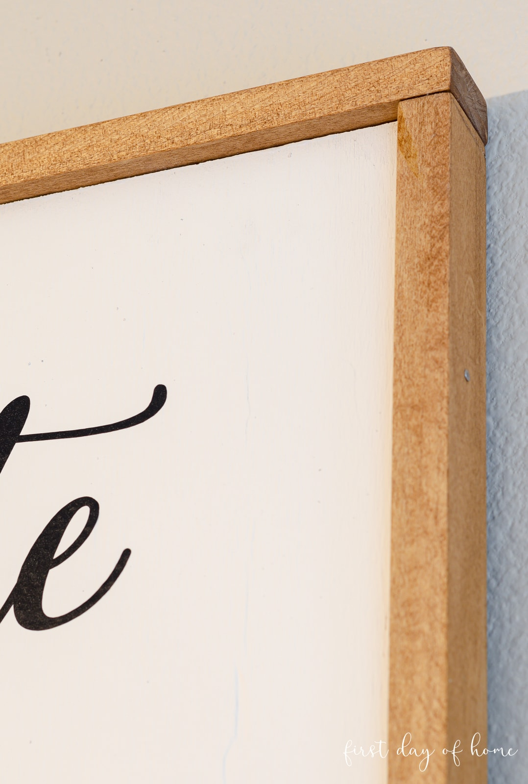 Farmhouse signs DIY frame