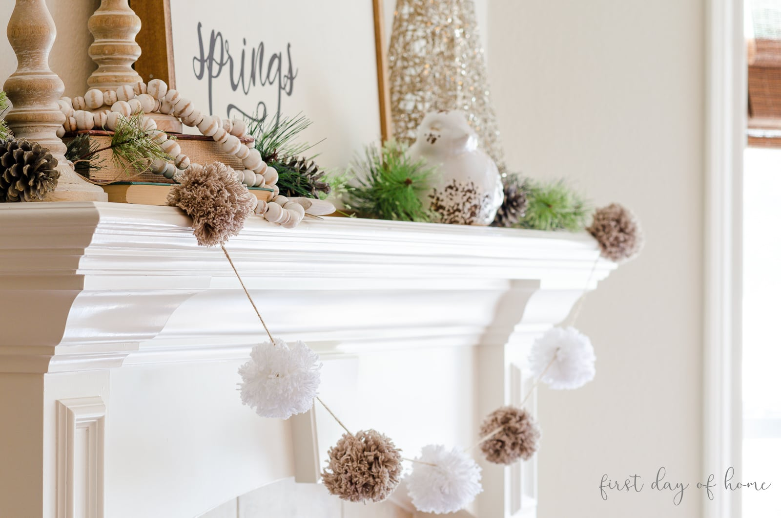 How To Decorate A Winter Mantel For The Season Tips Tricks