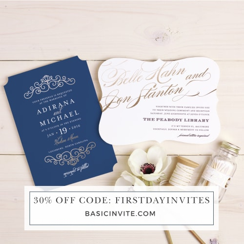 30% off promo code for Basic Invite